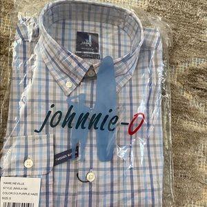Jonnie-o Long Sleeved Button Down Plaid Shirt